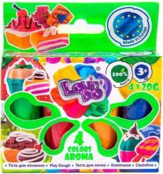 Набір тіста для ліплення Асорті 4 кольори Арома ТМ Lovin'Do 41032-1