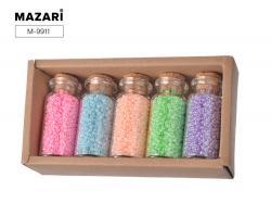 Набор бисера для творчества 5 цветов SULTANI ST 9911