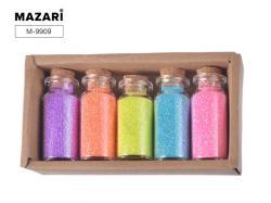 Набор блесток для творчества 5 цветов SULTANI ST 9909