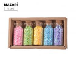 Набор блесток для творчества 5 цветов SULTANI ST 9910