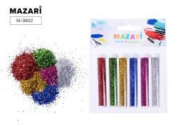 Набор блесток для творчества 6 цветов SULTANI ST 9802
