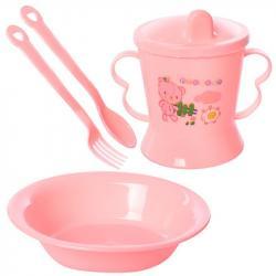Набор детской посуды Stenson 4 предмета, R83617
