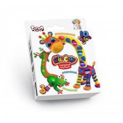 Набор для креативного творчества Danko Toys Air Clay 10 цветов, ДТ-ТЛ-02107