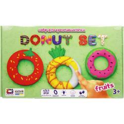 Набор для креативной лепки Donut Set FRUITS 70087