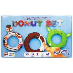 Набор для креативной лепки Donut set Heroes 70089