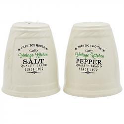 Набор для специй Stenson Винтаж соль и перец, MC2866