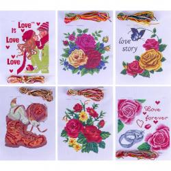 Набор для вышивания А4 цветной 13-129