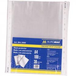 Набор файлов A4+ BUROMAX100 штук 30 микрон, BM.3800-y