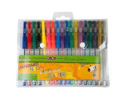 Набор гелевых ручек 6 цветов  Standart+Neon+Glitter+Metallic  ZIBI ZB.2206-99