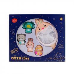 Набор игрушек для купания 5 предметов, 606Y