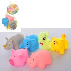 Набор игрушек для ванны 6 шт. RQ823