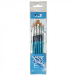 Набор кистей 6 штук синтетика  Brushes Profi Neo Line SB336