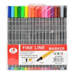 Набор линеров Wild & Mild Fine Line 18 цветов, ST00958
