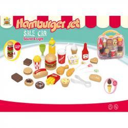 Набор продуктов в чемодане 689-31