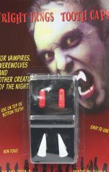 Набор  Клыки и кровь Вампира  на Хэллоуин МА21-784