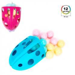 Набор шариков для сухих бассейнов ТехноК 12 штук 7778