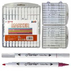 Набор скетч маркеров 24 цвета в пластиковом пенале 195108-24