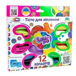 Набор теста для лепки 12 цветов Ассорти Lovin'Do 41021