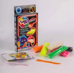Набор теста для лепки 6 цветов «LUMI» Lovin'Do 41018