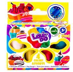 Набор теста для лепки Ассорти 4 цвета Lovin'Do 41027-1