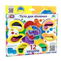 Набор теста для лепки 12 цветов Ассорти Lovin'Do 41015