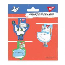 Набор закладок магнитных 3 шт.  Гусь  YES 707616