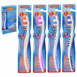 Набор зубных щеток Stenson Fresh care 12шт, MH-3524