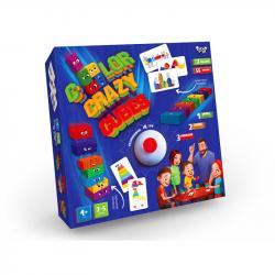 Настольная развивающая игра Danko Toys  Color Crazy Cubes , ДТ-БИ-07-76