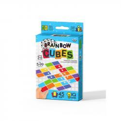 Настольная развлекательная игра Danko Toys  Brainbow CUBES  ДТ-МН-14-49