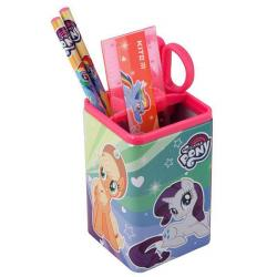 Настольный канцелярский набор 4 предмета квадратный  My Little Pony  Kite, LP19-214