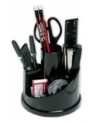 Настольный набор 14 предметов черный NORMA 7010