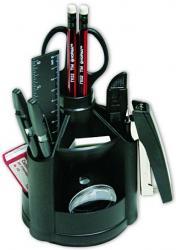 Настольный набор 14 предметов черный NORMA 7008