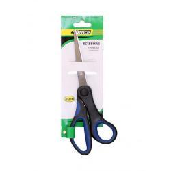 Ножницы 20см с прорезиненными ручками 4-362