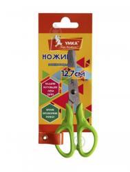 Ножницы детские 12,7 см. зеленые Умка НЦ408-04