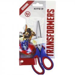 Ножницы детские с резиновыми вставками 16,5 см  Transformers  Kite, TF21-127