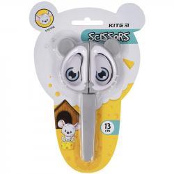Ножницы детские в футляре 13 см  Mouse  Kite, K21-017-01