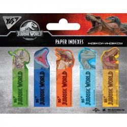 Индексы бумажные YES Jurassic World 50x15мм 100шт 170259
