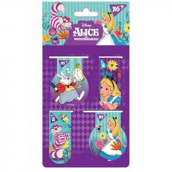 Закладки магнитные YES Alice 4 шт 707396