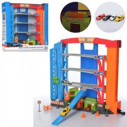 Детский игровой гараж 4 этажа 3488