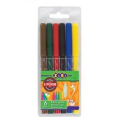 Фломастеры 6 цветов  Kids Line  ZIBI ZB.2801