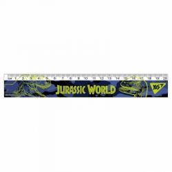 Линейка YES Jurassic World 20см 370583