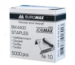 Скоби № 10 (5000 шт.) BUROMAX BM.4400