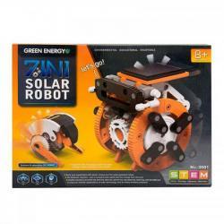 Робот конструктор Solar Robot Pro Original 7 в1 на солнечных батареях 9501