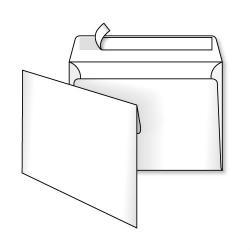 Конверт С6 ст. белый 114 * 162мм 113002