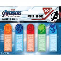 Индексы бумажные YES Marvel Avengers 50x15мм 100шт 170257