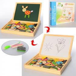 Деревянная игрушка с магнитной доской Набор первоклассника Tree Toys MD 2028