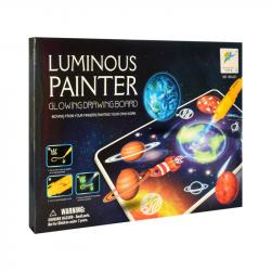 Доска светящаяся для рисования Glow drawing board 168-A21