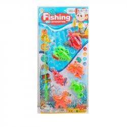 Рыбалка магнитная Морские обитатели, 3882-4