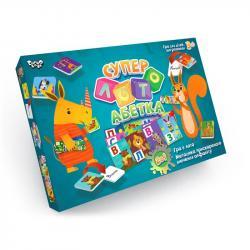 Настольная развлекательная игра Danko Toys Суперлото  Азбука , ДТ-ЛА-06-43