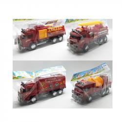 Пожарная машина инерционная Bambi 128-1-2-3-4